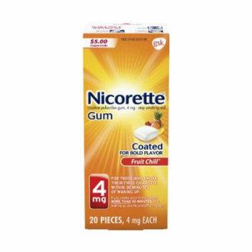 Nicorette Fruit Chill Gum (Pack of 36)