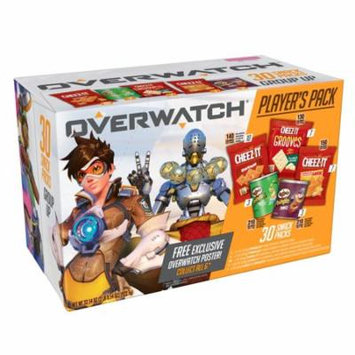 Cheez-It Pringles Caddy Overwatch Player's Pack 32.54 Oz 30 Ct