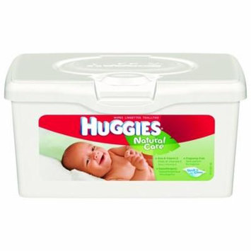 WIPE WET BABY HUGGIES NATURAL CARE UNSCENTED