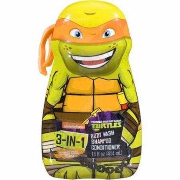Teenage Mutant Ninja Turtles body wash (Pack of 4)
