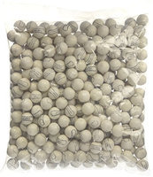 Candymachines Gumballs By The Pound - 2 Pound Bag of White Baseballs