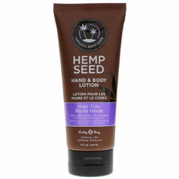Earthly Body Hemp Seed Hand & Body Lotion High Tide 7 oz. (Pack of 2)