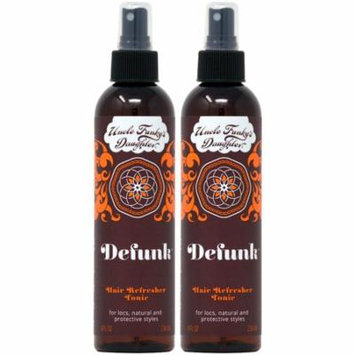 Uncle Funky's Daughter Defunk Hair Refresher Tonic Spray 8oz (Pack of 2)