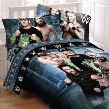 WWE Wrestling Bedding Set John Cena Industrial Strength Comforter and Sheet Set [bed_size: bed_size-twin]