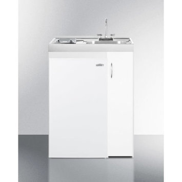 Summit Appliance Combination Kitchen with Storage Compartment