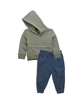 Sovereign Code Boys' Textured Hoodie & Joggers Set - Baby
