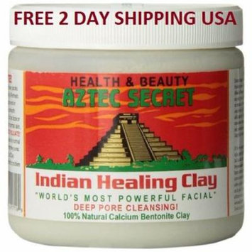 AZTEC SECRET Indian Healing Mud Clay Powder Facial Deep Pore Cleansing 1 Lb 2Lb