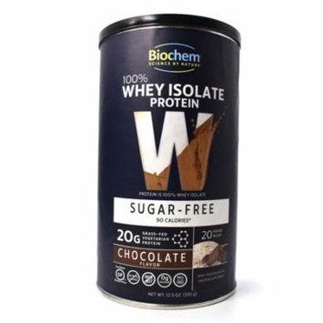 Country Life Biochem 100% Whey Protein Isolate Chocolate Sugar Free - 12.5 oz