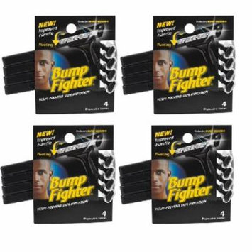 Bump Fighter Mens Disposable Razors - 4 ct. (Pack of 4 ) + Makeup Blender Stick, 12 Pcs