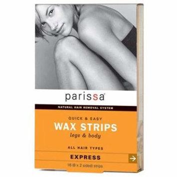 Parissa Laboratories, Inc. - Parissa Wax Strips for Legs & Body 217379 2 PACK SD