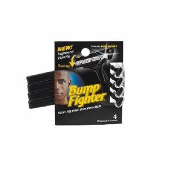Bump Fighter Mens Disposable Razors - 4 ct. + Makeup Blender Stick, 12 Pcs