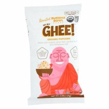 Lesser Evil - Buddah Bowl Organic Popcorn, Oh My Ghee, Pack of 18