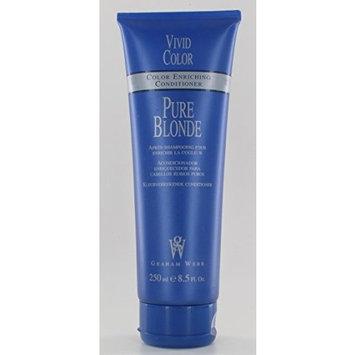 Graham Webb Vivid Color Pure Blonde Color Enhancing Conditioner 8.5oz