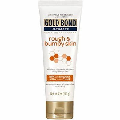 5 Pack Gold Bond Ultimate Daily Therapy Cream for Rough & Bumpy Skin, 4 Oz each
