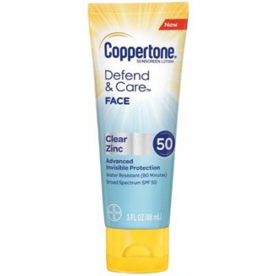3 Pack - Coppertone Sunscreen SPF 50 Lotion, 3 oz