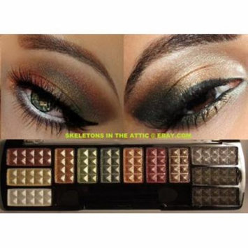 NEW Shimmer Matte Eye Shadow Makeup Cosmetic 12 Color Eyeshadow Palette Brush #2