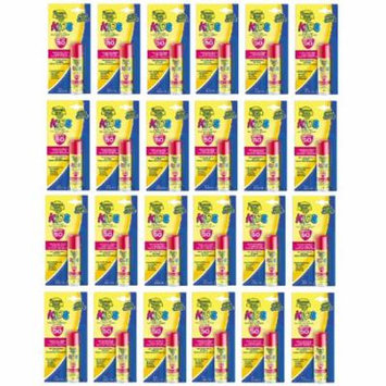 Banana Boat Kids UVA/UVB Protection Sunscreen Stick for Faces, Broad Spectrum SPF 50, 0.55 Oz (Pack of 24) + Makeup Blender Stick, 12 Pcs