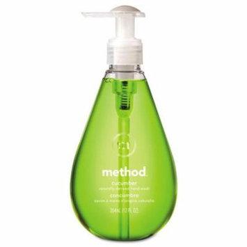 Method Gel Hand Wash Cucumber 12 oz Pump Bottle 00029