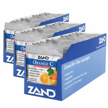 Zand HerbaLozenge Orange C | Vitamin C Lozenges w/ Herbal Extracts for Soothing Throat | No Corn Syrup, Cane Sugar or