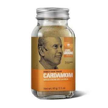 Organic Direct Fair Trade Cardamon Spice from Sri Lanka 2.1oz (60g)