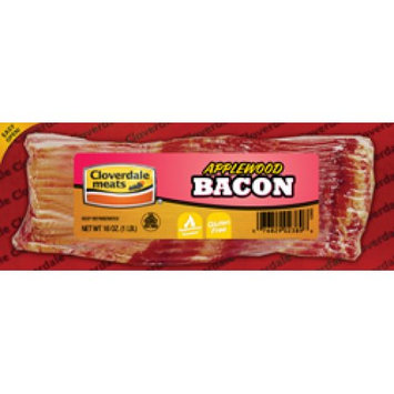 Cloverdale Foods Cloverdale Applewood Smoked Bacon 1 Lb