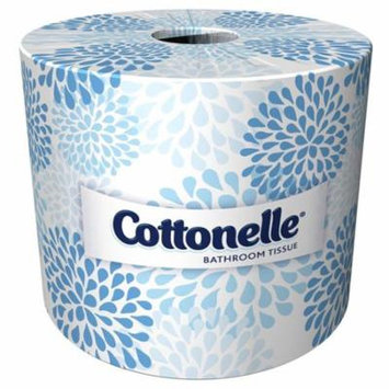 Cottonelle Bulk Toilet Paper 13135, Standard Toilet Paper Rolls, 2-PLY, White,