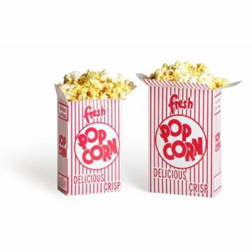 2103 Great Northern Popcorn 50 Premium Quality Movie Theater Style Popcorn Boxes 1.25 Ounce (Oz) Box