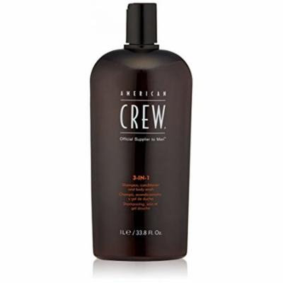 American Crew Classic 3-in-1 Shampoo Plus Conditioner, 33.8 Ounce, PACK OF 10