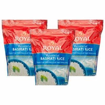 (3 Pack) Royal Rice, Basmati, 2 Lb