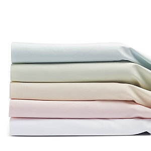 Coyuchi Sateen Crib Fitted Sheet Color: Alpine White