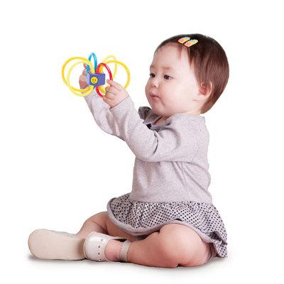 Smart Gear Eco-Friendly Bouncy Baby Rattle