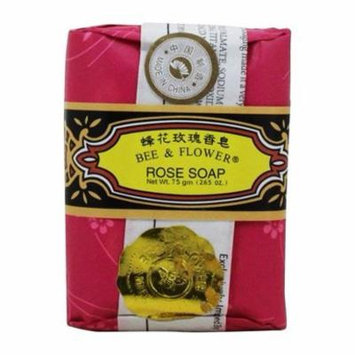 Bee & Flower Bar Soap Rose - 4.4 oz. by Prince of Peace (pack of 4)