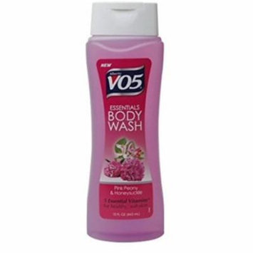 2 Pack - Alberto VO5 Essentials Body Wash, Pink Peony and Honeysuckle, 15 oz