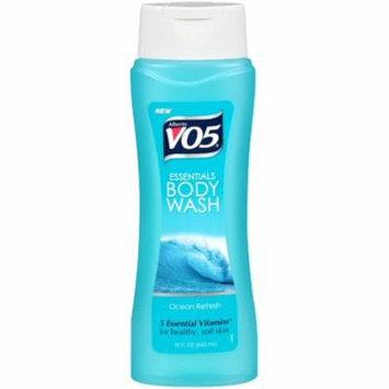 3 Pack - Alberto VO5 Essentials Body Wash, Ocean Refresh, 15 oz