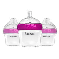 Baby Brezza® 3-Pack Polypropylene Bottles in Pink