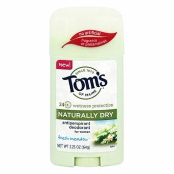 Naturally Dry Antiperspirant Deodorant for Women Fresh Meadow - 2.25 oz. by Tom's of Maine (pack of 3)