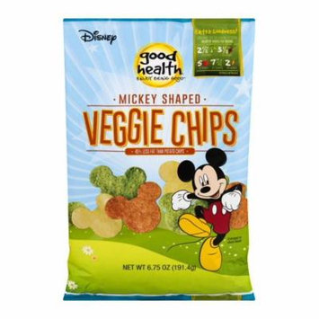 Good Health Mickey Mouse Shaped Veggie Chips 6.75 oz - Pack of 10