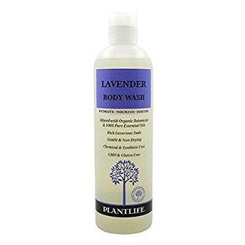 PLANTLIFE Lavender Body Wash, 14 Ounce