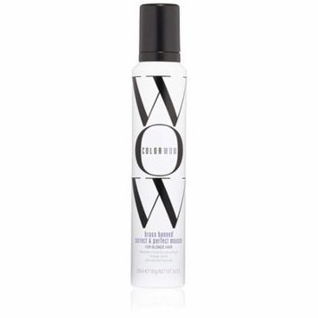 COLOR WOW Brass Banned Correct and Perfect Mousse,6.8 Oz, PACK OF 1