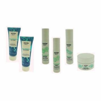 H2O Sea Greens Body Wash-Body Butter Infinity Firmer- Recovery Cream Waterbright Night Cream-Serum