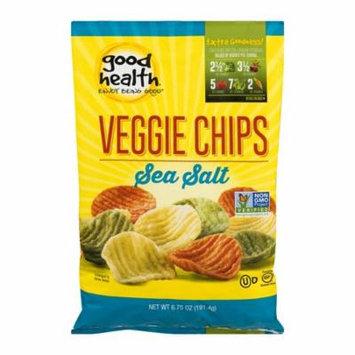 Good Health Sea Salt Veggie Chips 6.75 oz Bags - Pack of 10