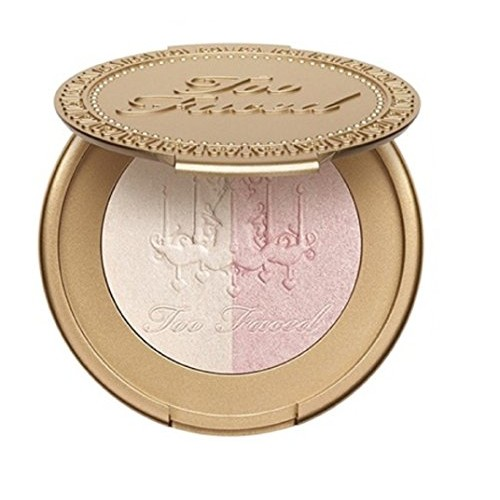 Too Faced Candlelight Glow Highlighting Powder Rosy Glow Mini 0.08 oz