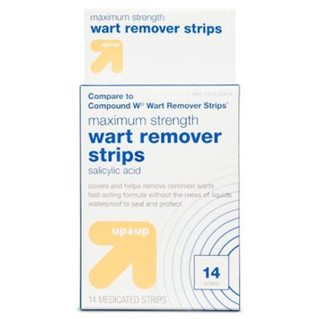 Wart Remover Strips - 14 ct - up & up™