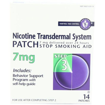 Novartis Nicotine Transdermal System Patches 7 mg Step 3 14 EA - Buy Packs and SAVE (Pack of 3)