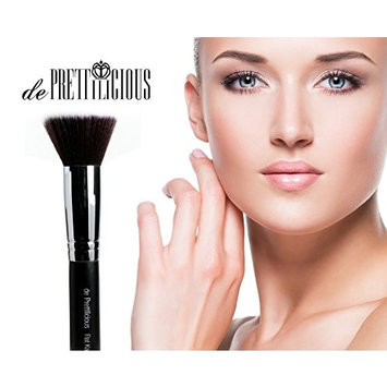 ON SALES! PERFECT 10 KABUKI MAKEUP BRUSH 10PCS SET with BRUSH CYLINDER and SOFT BRUSH POUCH (12 Slots) and BEAUTY E-BOOK.