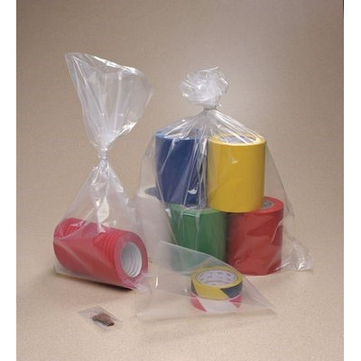 Value Brand 40F1212 Gusseted Poly Bag, 12 In.L, 12 In.W, PK1000