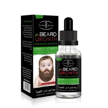 The Manskape Wild Willie's Liquid Gold Beard Oil, Made with 10 Organic Ingredients to Condition, Treat and Promote a Fast Growing, Healthy and Study Beard, 1.4 oz