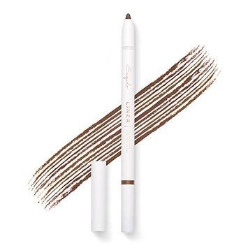 Gel Eyeliner Pencil (Brown) - Long lasting, waterproof, pigmented and smooth, built-in sharpener, best eye liner pen