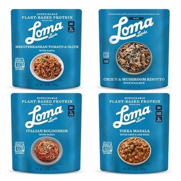 Loma Linda Mediterranean Inspired Variety Meals - Perfect For 2 People (10 oz.) (Pack of 8)