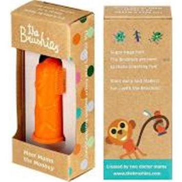 The Brushies BBM111 Baby & Toddler Finger Toothbrush Momo the Monkey